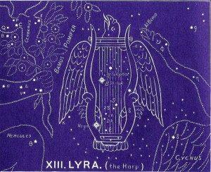 Lyra Constellation and Vega