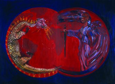 Archangel Michael and Dragon, Michael El Nour