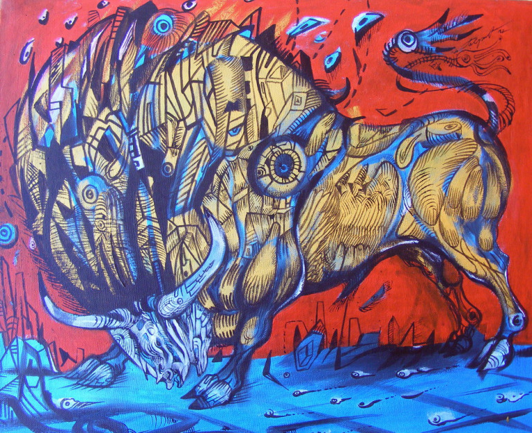 bull of heaven mark gavrilovic